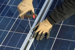 Monate einer Solaranlage